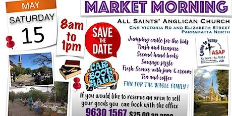 All Saints Community Market tickets