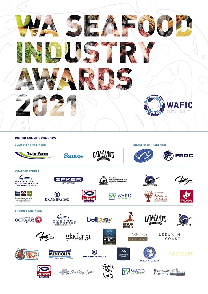 WA Seafood Industry Awards 2021 image