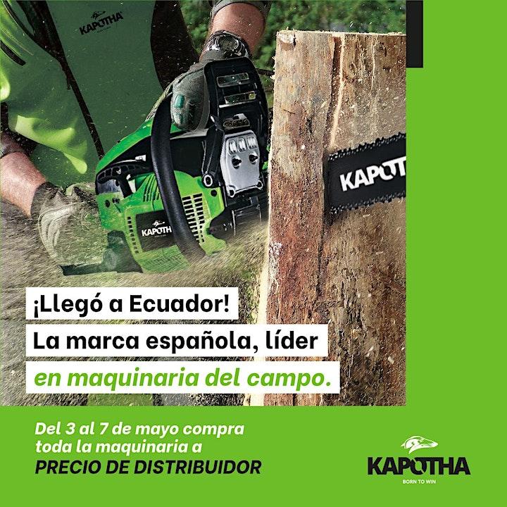 Imagen de Inauguración tienda Kapotha  Quito ¡Maquinaria para el campo!