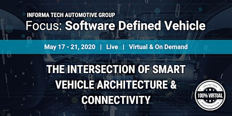 Focus: Software Defined Vehicle tickets
