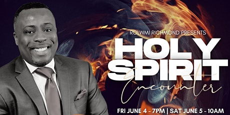 Holy Spirit Encounter tickets