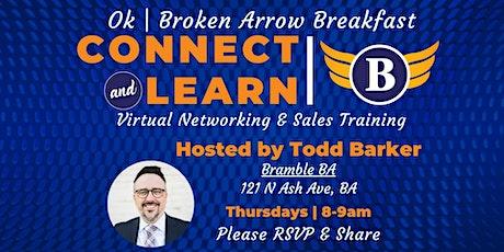 OK   Broken Arrow Breakfast - Networking and Sales Training tickets