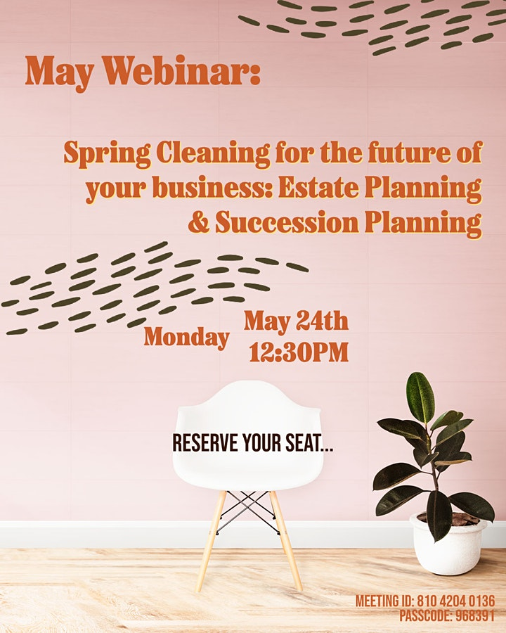 Spring Cleaning for the future of your business: Estate Planning & Successi image