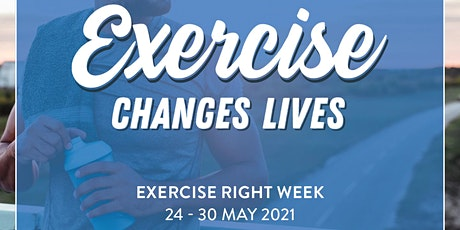 Exercise Right Week Free Exercise Class and Q&A tickets