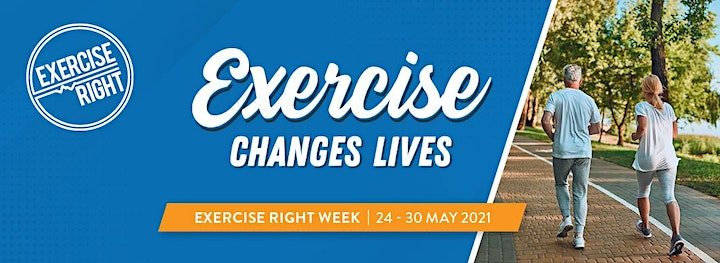 Exercise Right Week Free Exercise Class and Q&A image