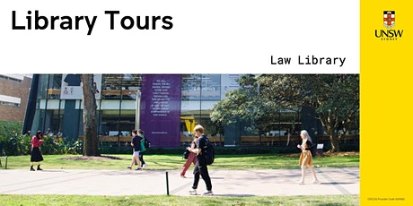 Library tours: Law Library T2 2021 tickets