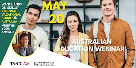 Regional Vocational Studies In Australia -20 MAY tickets