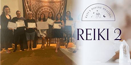 Become a Certified Reiki Level 2 Practitioner tickets