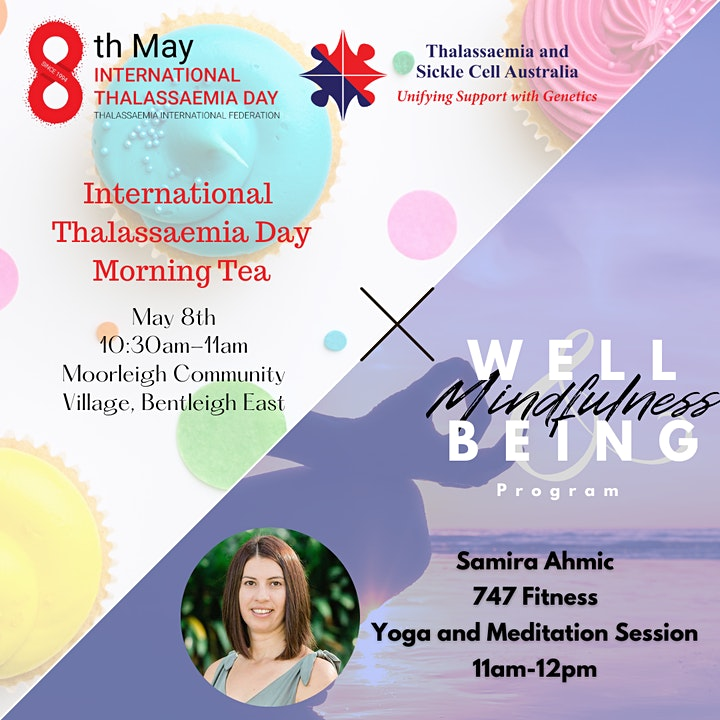 International Thalassaemia Day Morning Tea (With MNW Program) image