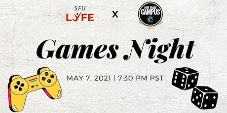 Games Night tickets