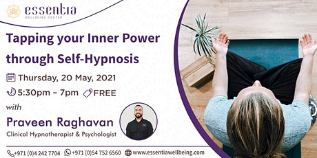Tapping your Inner Power through Self-Hypnosis with Praveen Raghavan tickets