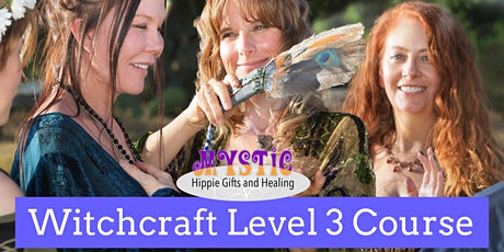 Witchcraft For The Solitary Witch - Level 3 Course tickets