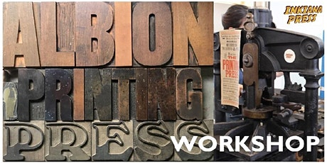 Letterpress Workshop  2 (Auckland North) tickets