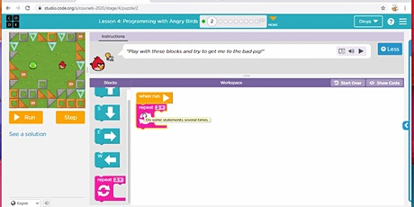 Kids Online Coding For Little Curious Minds 5 Day Camp tickets