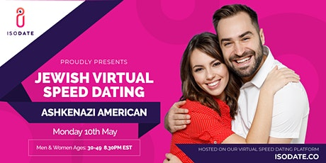 Isodate's Ashkenazi Jewish Virtual Speed Dating tickets