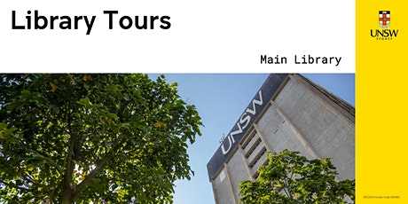Library tours: Main Library tickets