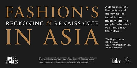 Fashion's Reckoning and Renaissance In Asia tickets