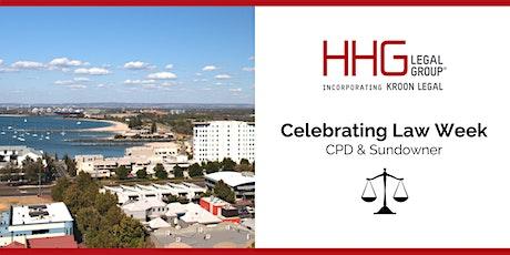HHG Legal Group  | CPD & Sundowner tickets