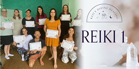 Copy of Become a certified Reiki 1 Practitioner tickets