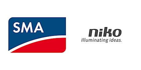Webinar: Eigenverbruik verhogen: gemakkelijk met Niko en SMA tickets