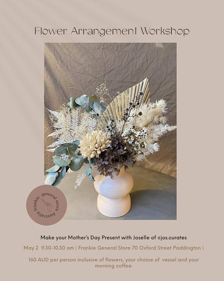 DIY Mother's  Day Present: Floral Arrangement Workshop in  Paddington image