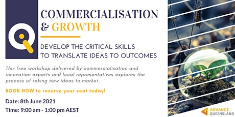 Innovate Queensland Commercialisation & Growth Workshop — Ipswich tickets
