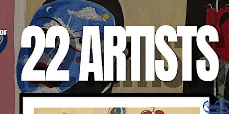 22 ARTIST tickets
