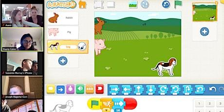 Kids Online 4 day Camp of Scratch Junior - Start Coding With Fun tickets