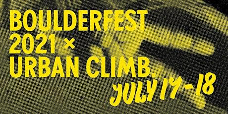 Boulderfest 2021 tickets