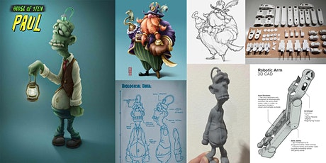 From 2D to 3D Character Design (Sharing by Artist Jason Loo) | MakeIT tickets