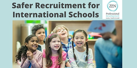 Safer Recruitment for International Schools tickets