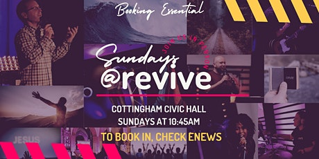 Sunday Mornings at Revive in Cottingham! tickets