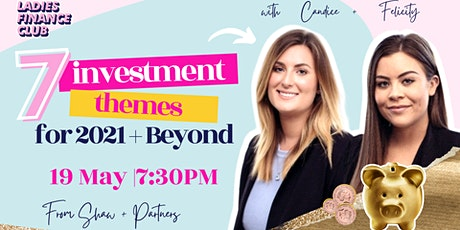 Exploring 7 Key Investment Themes for 2021 and Beyond tickets