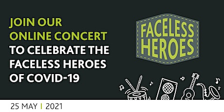 Faceless Heroes Virtual Concert tickets