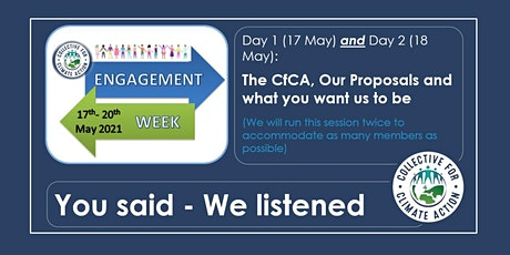 CfCA Engagement Week: Help US Create the Community You Need tickets