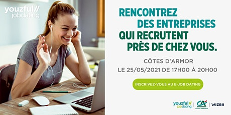 E-Job Dating Côtes-d'Armor : décrochez un emploi dans votre région billets