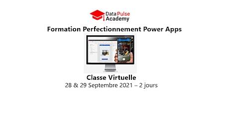 Power Apps Perfectionnement - 2 jours - 28 & 29 Septembre 2021 billets