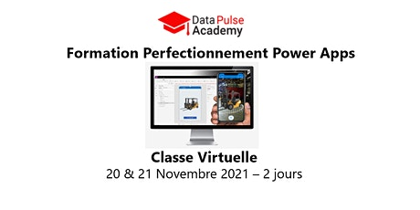 Power Apps Perfectionnement - 2 jours - 20 & 21 Novembre 2021 biglietti
