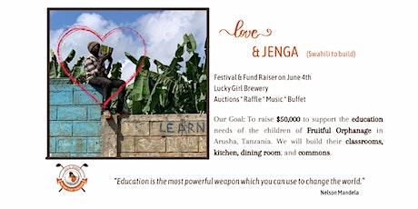 Love & JENGA tickets
