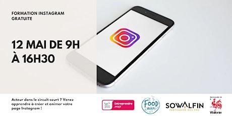 Food'Wapi - Formation Instagram : créer et animer sa page Instagram pro billets