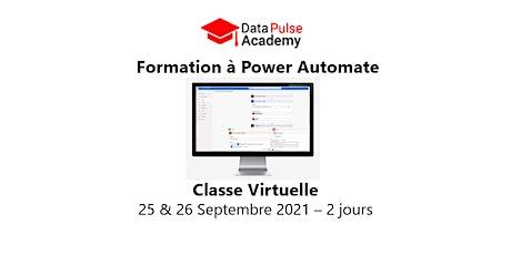 Formation à Power Automate - 2 jours - 25 & 26 Septembre  2021 billets