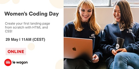 [Free Workshop] Women's Coding Day tickets