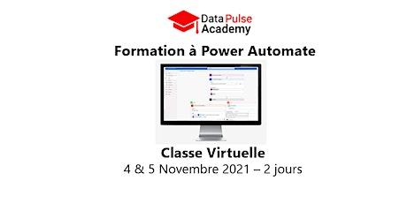 Formation à Power Automate - 2 jours - 4 & 5 Novembre  2021 billets