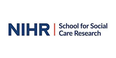 NIHR SSCR Webinar Series: Representation in Adult Social Care Surveys tickets