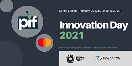 PIF Innovation Day 2021 (Spring Edition) tickets