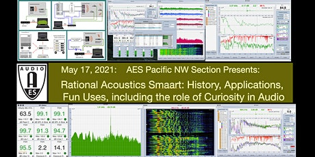RA's Smaart: History, Applications, Fun Uses, including Curiosity in Audio tickets