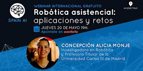 Webinar (AI Lead Talk): Robótica asistencial: aplicaciones y retos boletos