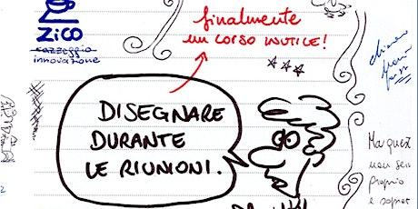 Disegnare durante le riunioni biglietti