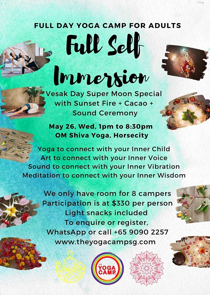 Yoga Camp for Adults (Full Self Immersion) image