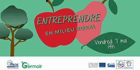 Webinaire sur l'entrepreneuriat en milieu rural/dans l'alimentation billets